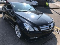 USED 2013 63 MERCEDES-BENZ E CLASS 2.1 E250 CDI BLUEEFFICIENCY S/S SPORT 2d AUTO 204 BHP