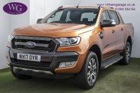 2017 FORD RANGER 3.2 WILDTRAK 4X4 DCB TDCI 1d AUTO 197 BHP £17495.00