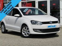 USED 2014 14 VOLKSWAGEN POLO 1.4 MATCH EDITION DSG 3d AUTO 83 BHP STUNNING, Low Mileage, VW POLO 1.4 MATCH EDITION DSG AUTO. Finished in CANDY WHITE with contrasting Grey Trim. This Polo is still one of the best small cars you can buy. It is comfortable and has a spacious, plush interior. The 1.4 auto makes it nippy and a fun car to drive. Features include DAB radio, Alloys, Cruise Control, Rear Tinted windows, Air Con and much more. Lookers Blackburn VW Dealer serviced at 6645 miles, 13119 miles, 19961 miles, 24139 miles and at 29576 miles. 12 Months MOT.