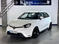 USED 2017 66 MG 3 1.5 3 STYLE LUX VTI-TECH 5dr Leather, Bluetooth, Park Assist, SAVE OVER £5,000 On NEW !!!