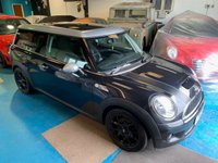 USED 2007 57 MINI CLUBMAN 1.6 COOPER S 5d 172 BHP 2007 MINI COOPER S CLUBMAN 1.6 5 DOOR ESTATE 172 BHP HALF LEATHER ONLY 59K MILES FSH WARRANTY & FINANCE AVAILABLE