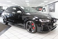 USED 2018 67 AUDI RS3 2.5 TFSI RS 3 QUATTRO S TRONIC 400 BHP PAN ROOF SS SEATS RS EXHAUST!