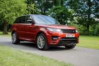 USED 2013 63 LAND ROVER RANGE ROVER SPORT 3.0 SDV6 AUTOBIOGRAPHY DYNAMIC 5d 288 BHP