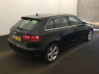 USED 2015 15 AUDI A3 2.0 SPORTBACK TDI SPORT 5d 182 BHP # BUY FOR ONLY 32  A W/K FINANCE, 1 OWNER FULL SERVICE HISTORY