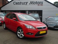 2010 FORD FOCUS 1.6 ZETEC 5d - LOW MILEAGE £3290.00
