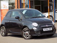 USED 2014 64 FIAT 500 1.2 S 3dr **Blue & Me with USB + Aux**
