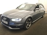 USED 2012 12 AUDI A4 2.0 AVANT TDI BLACK EDITION 5d AUTO 141 BHP BUY FOR ONLY 32  A W/K FINANCE