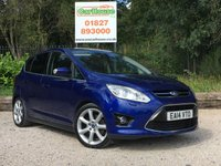 USED 2014 14 FORD C-MAX 2.0 TITANIUM X TDCI 5dr AUTO Huge Spec! FSH, Pan Roof, PDC