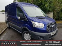 USED 2015 15 FORD TRANSIT 290 2.2 125 BHP TREND L2 H2**NO VAT**CHOOSE FROM OVER 85 VANS