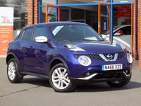 USED 2016 66 NISSAN JUKE 1.5 dCi N-Connecta 5dr (Comfort Pack) **Sat Nav + Rear Camera**