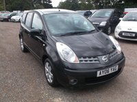 USED 2006 06 NISSAN NOTE 1.6 SVE 5d 109 BHP Great Value Note With Low Miles and Only 2 Former Keepers!
