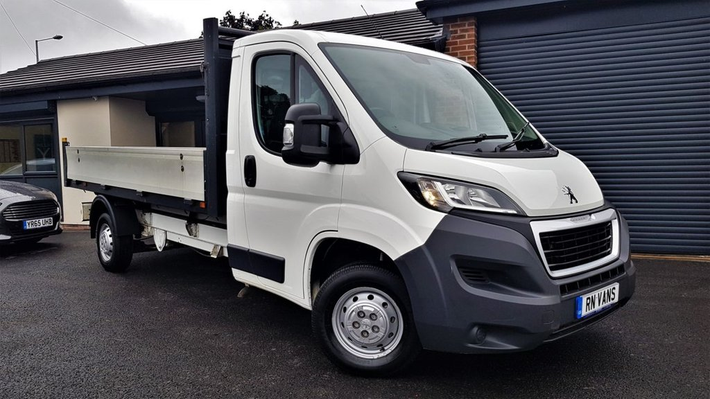 USED 2016 16 PEUGEOT BOXER 2.2 HDI 335 L3 C/C 2DR 130 BHP *** DROP SIDE - 1 OWNER - FULL HISTORY ***