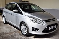 USED 2012 12 FORD C-MAX 1.6 TITANIUM TDCI 5d 114 BHP 2012 Ford C-Max 1.6TDCi Titanium with just 60k, FSH, 2 owners from new! PX welcome, Finance available!