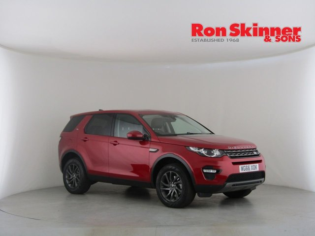 View our 2016 66 LAND ROVER DISCOVERY SPORT 2.0 TD4 SE TECH 5d AUTO 180 BHP
