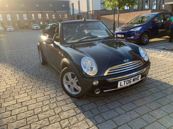 2006 MINI CONVERTIBLE 1.6L COOPER 2d 114 BHP £SOLD
