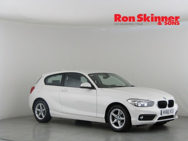 View our 2016 66 BMW 1 SERIES 1.5 116D SE 3d AUTO 114 BHP