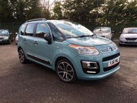 USED 2016 16 CITROEN C3 PICASSO 1.6 BLUEHDI PLATINUM PICASSO 5d VERY CLEAN WITH SERVICE HISTORY NO DEPOSIT  FINANCE ARRANGED, APPLY HERE NOW