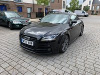 USED 2013 13 AUDI TT 2.0L TFSI BLACK EDITION 2d 208 BHP Nav Camera, 6months Warranty, Finance, NEW MOT