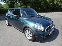 2009 MINI HATCH ONE 1.4 ONE 3d 94 BHP £3190.00