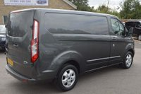 USED 2015 15 FORD TRANSIT CUSTOM 2.2 TDCi 270 L1H1 Limited Panel Van 5dr SERVICE HISTORY*GREAT SPEC