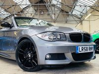 USED 2008 58 BMW 1 SERIES 3.0 125i M Sport 2dr BLACK PACK 18S NEW SERVICE