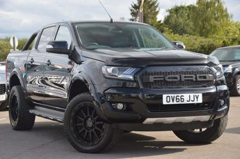 2016 FORD RANGER 3.2 TDCi Limited 2 Double Cab Pickup 4x4 4dr £23990.00