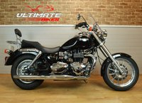 2007 TRIUMPH BONNEVILLE AMERICA 865 CUSTOM CRUISER 865CC, ONE OWNER, LESS THAN 7K MILES! £4295.00