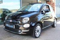 2015 FIAT 500C 1.2 C LOUNGE 3d 69 BHP £7495.00