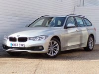 2017 BMW 3 SERIES 1.5 318I SE TOURING 5d AUTO 135 BHP £16489.00