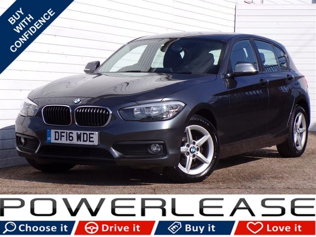 USED 2016 16 BMW 1 SERIES 1.5 116D SE 5d 114 BHP FREETAX FSH SAT NAV BLUETOOTH