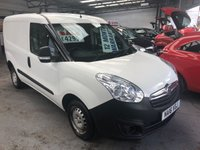 USED 2016 16 VAUXHALL COMBO 1.2 2000 L1H1 CDTI 1d 90 BHP *** 12 MONTHS WARRANTY! ***