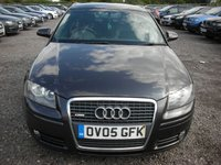 USED 2005 05 AUDI A3 2.0 T FSI S LINE 5d AUTO 197 BHP FSH - Panoramic roof - Auto