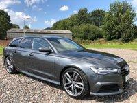 2015 AUDI A6 2.0 AVANT TDI ULTRA BLACK EDITION 5d AUTO 188 BHP £16995.00