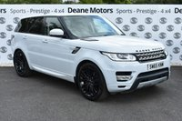 USED 2016 65 LAND ROVER RANGE ROVER SPORT 3.0 SDV6 HSE 5d AUTO 306 BHP BLACK PACK 21in ALLOYS