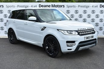 2016 LAND ROVER RANGE ROVER SPORT 3.0 SDV6 HSE 5d AUTO 306 BHP BLACK PACK 21in ALLOYS