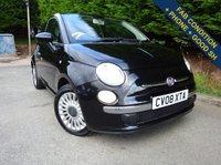 USED 2008 08 FIAT 500 1.2 LOUNGE 3d 69 BHP