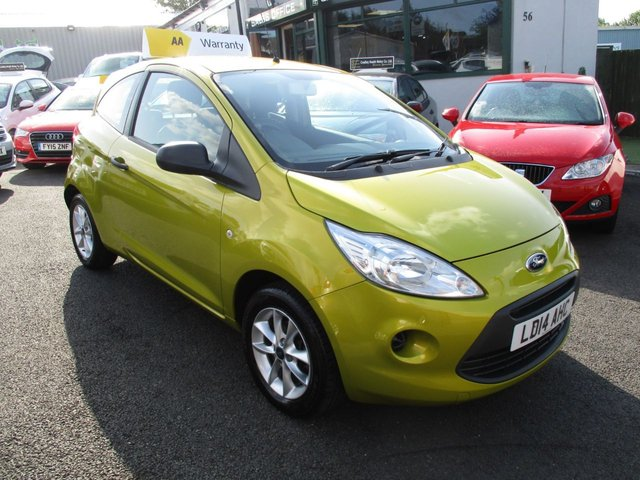 USED 2014 14 FORD KA 1.2 STUDIO PLUS 3d 69 BHP
