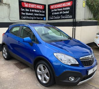 2014 VAUXHALL MOKKA EXCLUSIV 1.7 CDTI S/S 5DR 130 BHP, EXTREMELY LOW RUNNING COSTS £7950.00