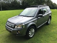 USED 2012 LAND ROVER FREELANDER HSE SD4 2.2 AUTO **EXCELLENT FINANCE PACKAGES**FULL LEATHER INTERIOR - HEATED FRONT SEATS**PANORAMIC ROOF**SAT NAV**AUTOMATIC**