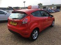 USED 2015 65 FORD FIESTA 1.2 ZETEC 3d 81 BHP FULL SERVICE HISTORY - FINANCE AVAILABLE