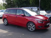 USED 2014 64 CITROEN C4 GRAND PICASSO 1.6 E-HDI AIRDREAM EXCLUSIVE PLUS ETG6 5d AUTO 113 BHP Nav,RevCam,SelfPark,PanRoof++