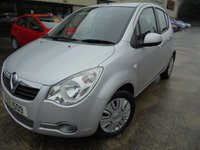 USED 2013 VAUXHALL AGILA 1.2 S 5d 93 BHP Excellent Condition, One Owner, FSH, Low Rate Finance Available, No Deposit Necessary, Low Low Mileage