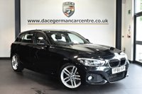 "USED 2016 66 BMW 1 SERIES 1.5 116D M SPORT 5DR 114 BHP full bmw service history * NO ADMIN FEES * FINISHED IN STUNNING SAPPHIRE METALLIC BLACK WITH ANTHRACITE UPHOLSTERY + FULL BMW SERVICE HISTORY + SATELLITE NAVIGATION + BLUETOOTH + DAB RADIO + CRUISE CONTROL + LED HEADLIGHTS + SPORT SEATS + RAIN SENSORS + PARKING SENSORS + 18"" ALLOY WHEELS"