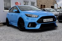USED 2017 17 FORD FOCUS RS AWD 2.3 Ecoboost 5dr ( 350 bhp ) Low Mileage Full Service History Genuine Example Maxton Design Kit Stunning Car
