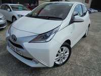 USED 2017 66 TOYOTA AYGO 1.0 VVT-I X-PURE 5d 69 BHP Ecellent Condition, FSH, No Deposit Necessary, No Fee Finance Available, Part Ex Welcomed, Manufacturer's Warranty