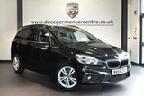 """USED 2016 66 BMW 2 Series GRAN TOURER 1.5 218I SE GRAN TOURER 5DR 7 SEATS 134 BHP full service history * NO ADMIN FEES * FINISHED IN STUNNING SAPPHIRE METALLIC BLACK WITH ANTHRACITE UPHOLSTERY + FULL SERVICE HISTORY + SATELLITE NAVIGATION + BLUETOOTH + DAB RADIO + CRUISE CONTROL + 7 SEATS + LIGHT PACKAGE + RAIN SENSORS + AUTO AIR CON + PERFORMANCE CONTROL + PARKING SENSORS + 17"""" ALLOY WHEELS"""