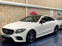 USED 2018 18 MERCEDES-BENZ E CLASS 2.0 E220d AMG Line Coupe 2dr Diesel G-Tronic+ (s/s) (194 ps) +FULL SERVICE+WARRANTY+FINANCE