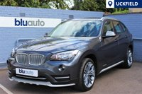 """USED 2015 64 BMW X1 2.0D XDRIVE XLINE 5d AUTO 181 BHP 18"""" Alloys, Full BMW Service History, Heated Front Seats, Rear/Front Parking Sensors, Full Leather Piping."""
