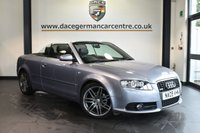 "USED 2009 09 AUDI A4 2.0 TDI S LINE SPECIAL EDITION 2DR 141 BHP full audi  service history * NO ADMIN FEES * FINISHED IN STUNNING SILVER WITH FULL LEATHER INTERIOR + FULL AUDI SERVICE HISTORY + SATELLITE NAVIGATION + BOSE SURROUND SOUND + DUAL CLIMATE CONTROL + PARKING SENSORS + 18"" ALLOY WHEELS"