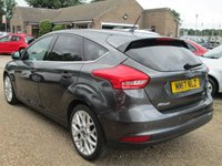 USED 2017 17 FORD FOCUS 1.0 TITANIUM X 5d AUTO 124 BHP BLUETOOTH - ADVANCED VOICE CONTROL